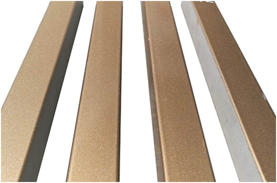 据有金属闪光质感的金属氟碳漆涂装效果详图