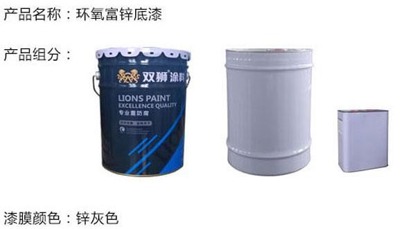 环氧富锌底漆固含量、锌含量的参数解读